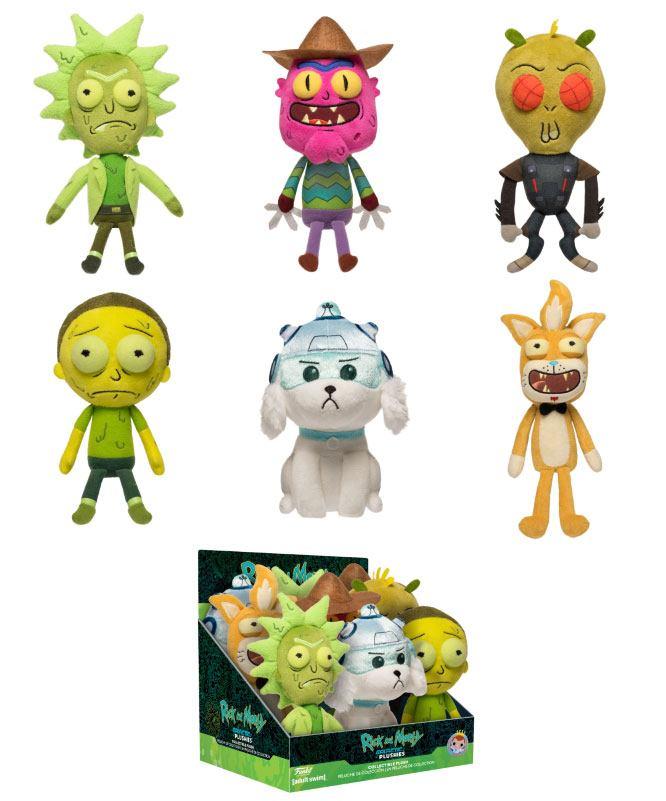 Rick and Morty Galactic Plushies Plush Figure 18 cm Display (9)
