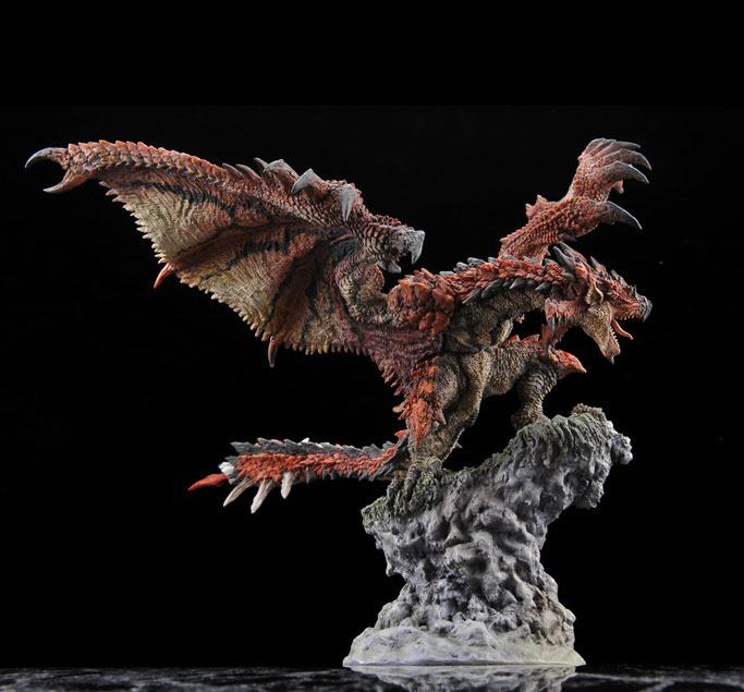 Monster Hunter PVC Statue CFB Creators Model Rathalos Resell Version 21 cm