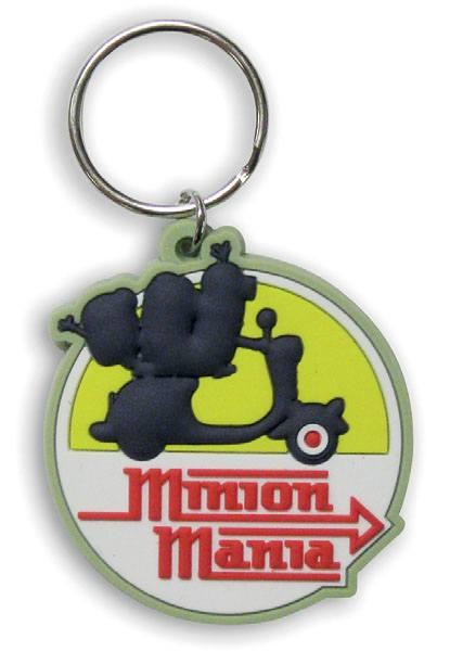 Minions Rubber Keychain Minion Mania 6 cm