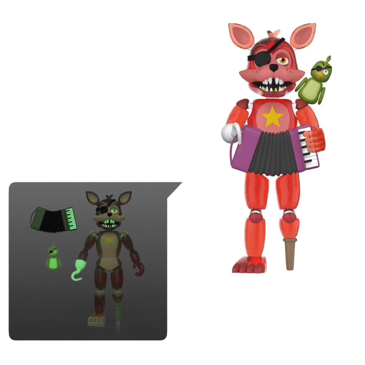 Five Nights at Freddy's Pizza Simulator Action Figure Rockstar Foxy (Translucent) 13 cm