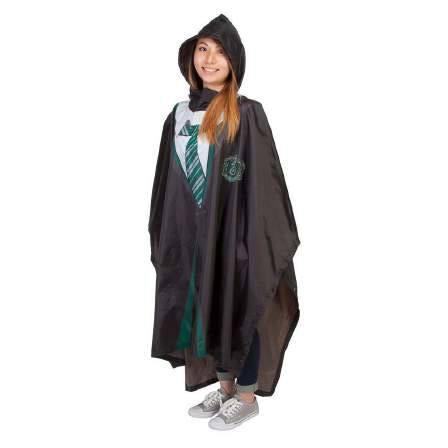 Harry Potter Rain Poncho Slytherin