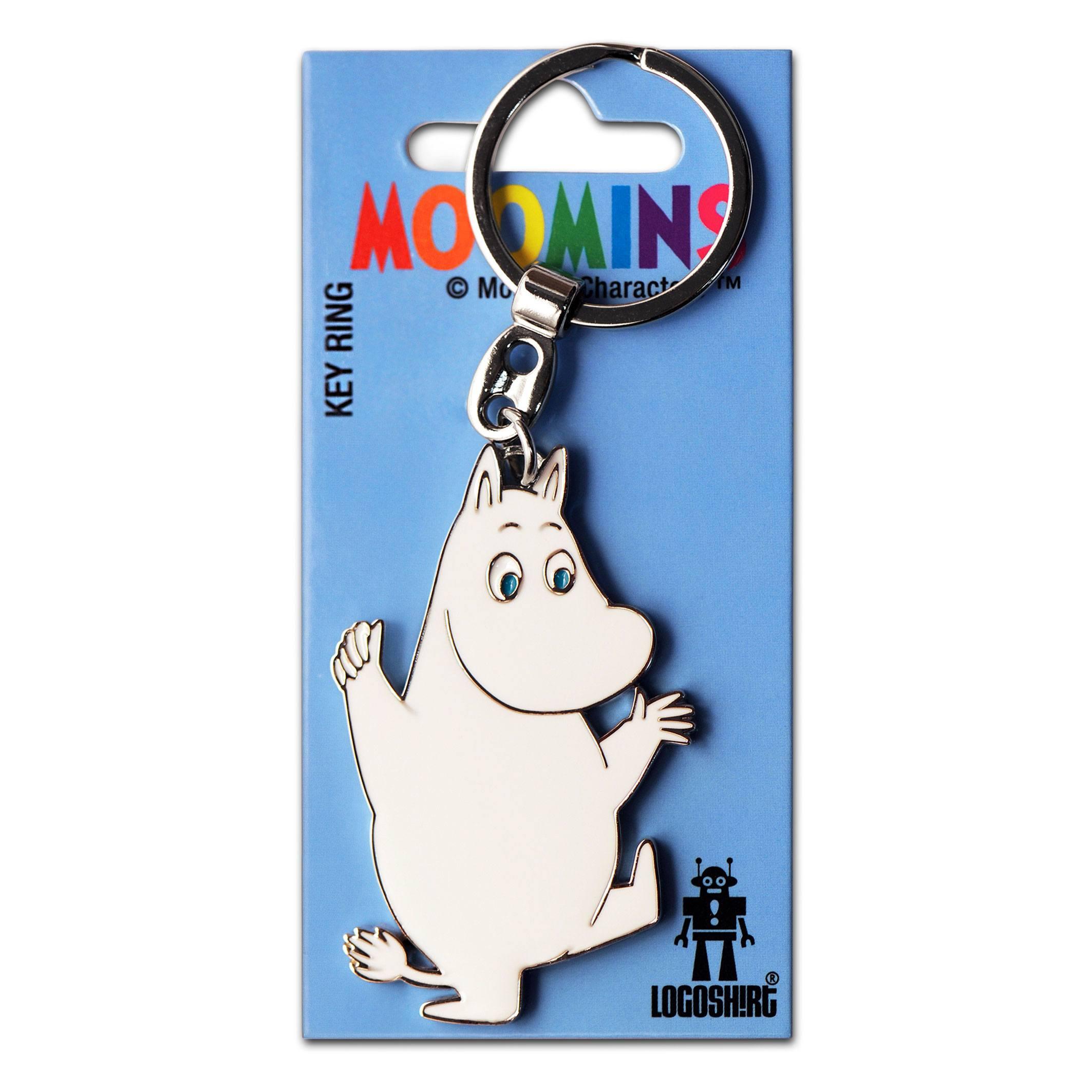 Moomins Metal Keychain Moomintroll
