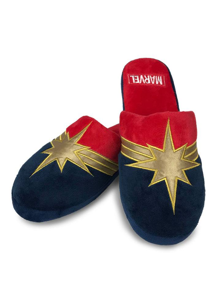 Captain Marvel Ladies Slippers Captain Marvel