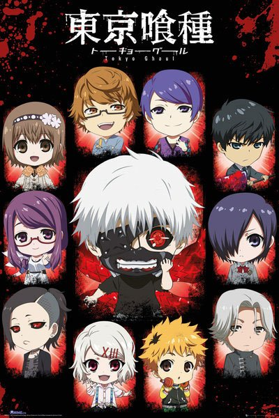 Tokyo Ghoul Poster Pack Characters 61 x 91 cm (5)