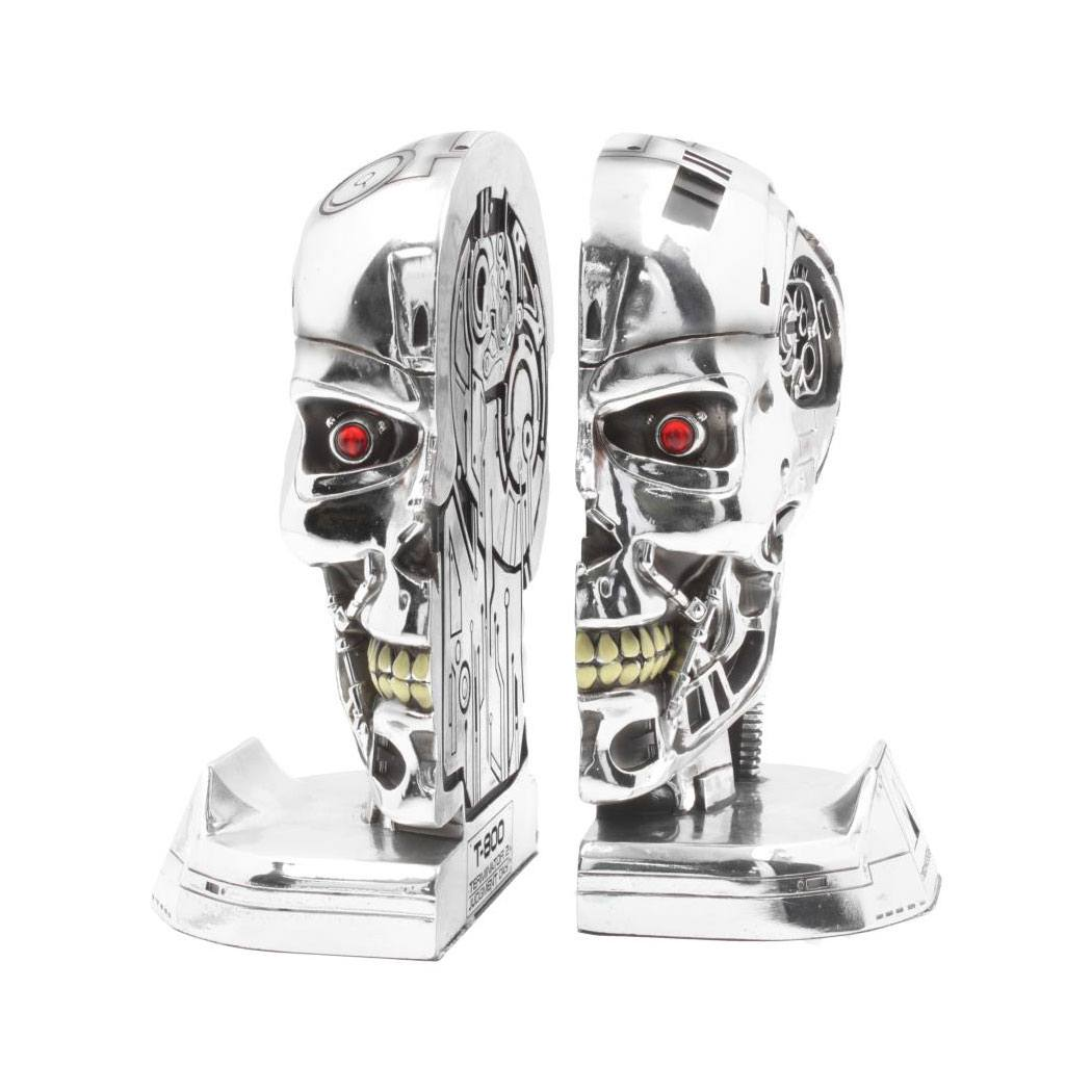 Terminator 2 Bookends Head