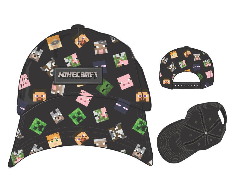 Minecraft Baseball Cap All Over Print