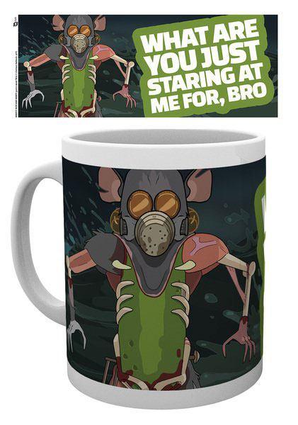 Rick and Morty Mug Mask