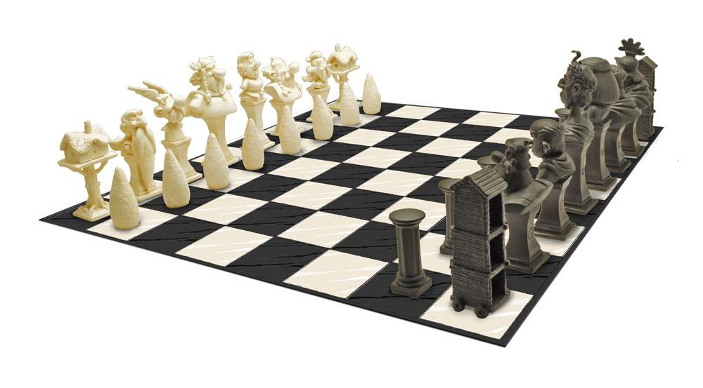 Asterix 3D Collector Chess Characters
