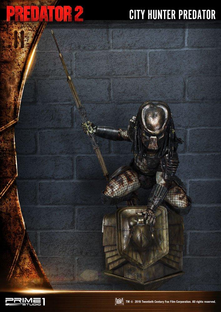 Predator 2 3D Wall Art City Hunter Predator 79 cm
