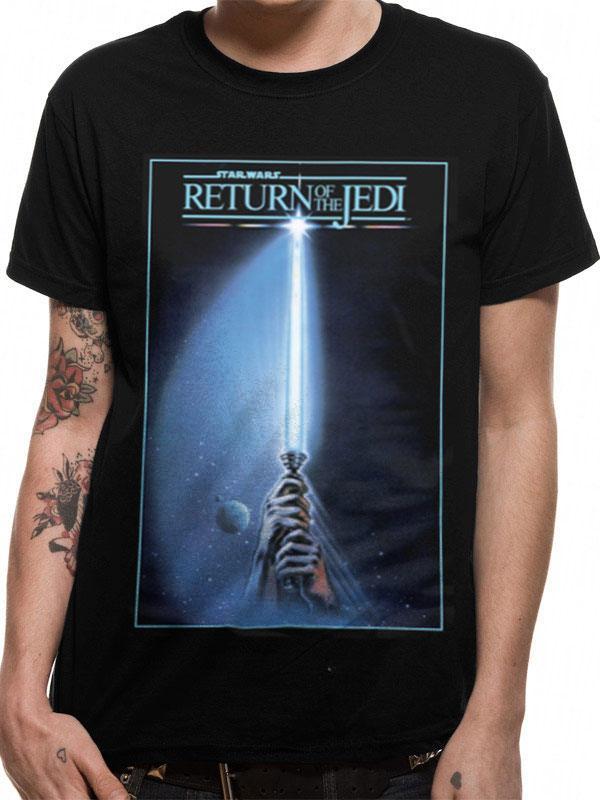 Star Wars T-Shirt Return of the Jedi Size XL