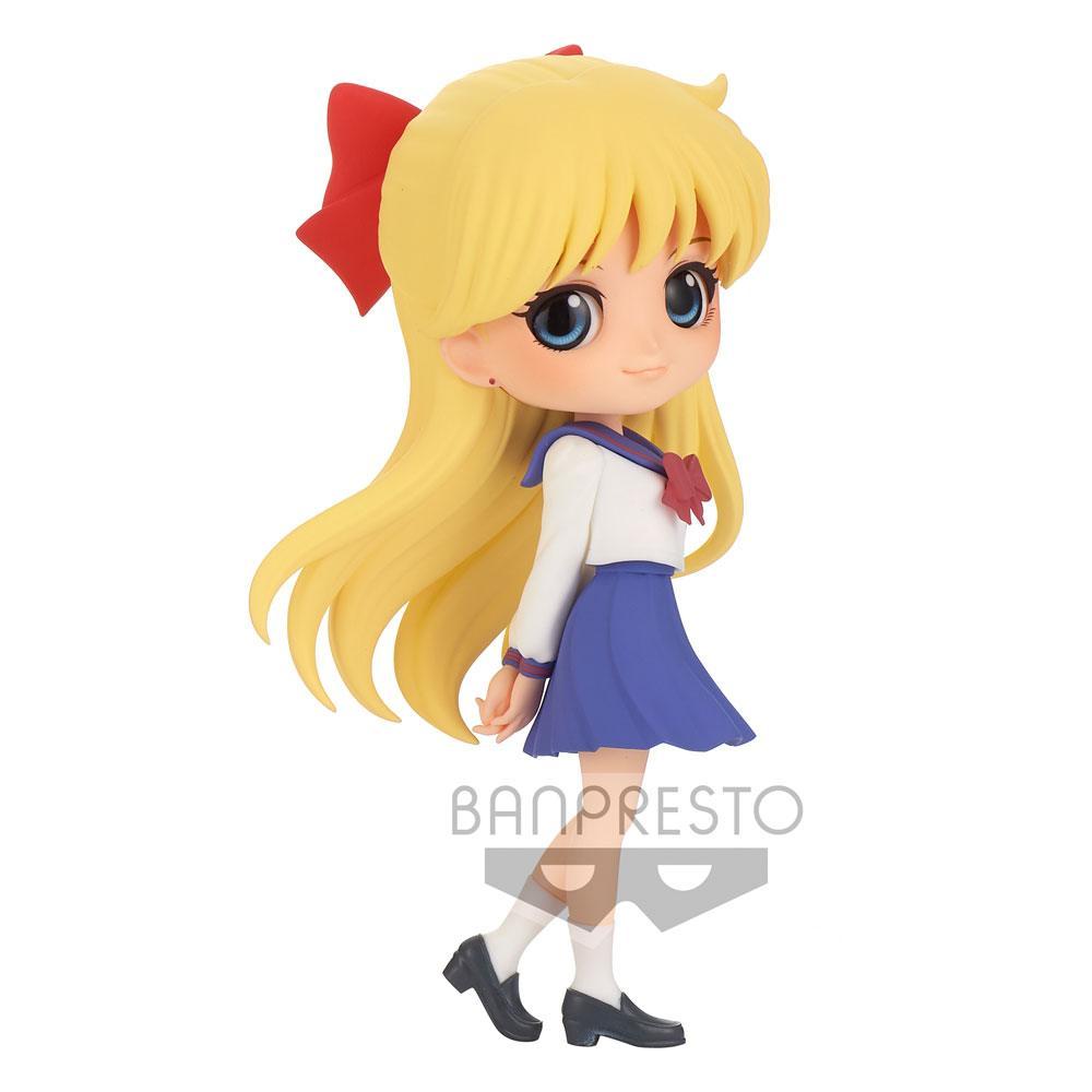 Sailor Moon Eternal The Movie Q Posket Mini Figure Minako Aino Ver. B 14 cm