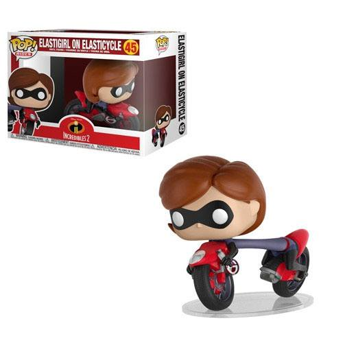 Incredibles 2 POP! Rides Vinyl Figure Elastigirl on Elasticycle 15 cm