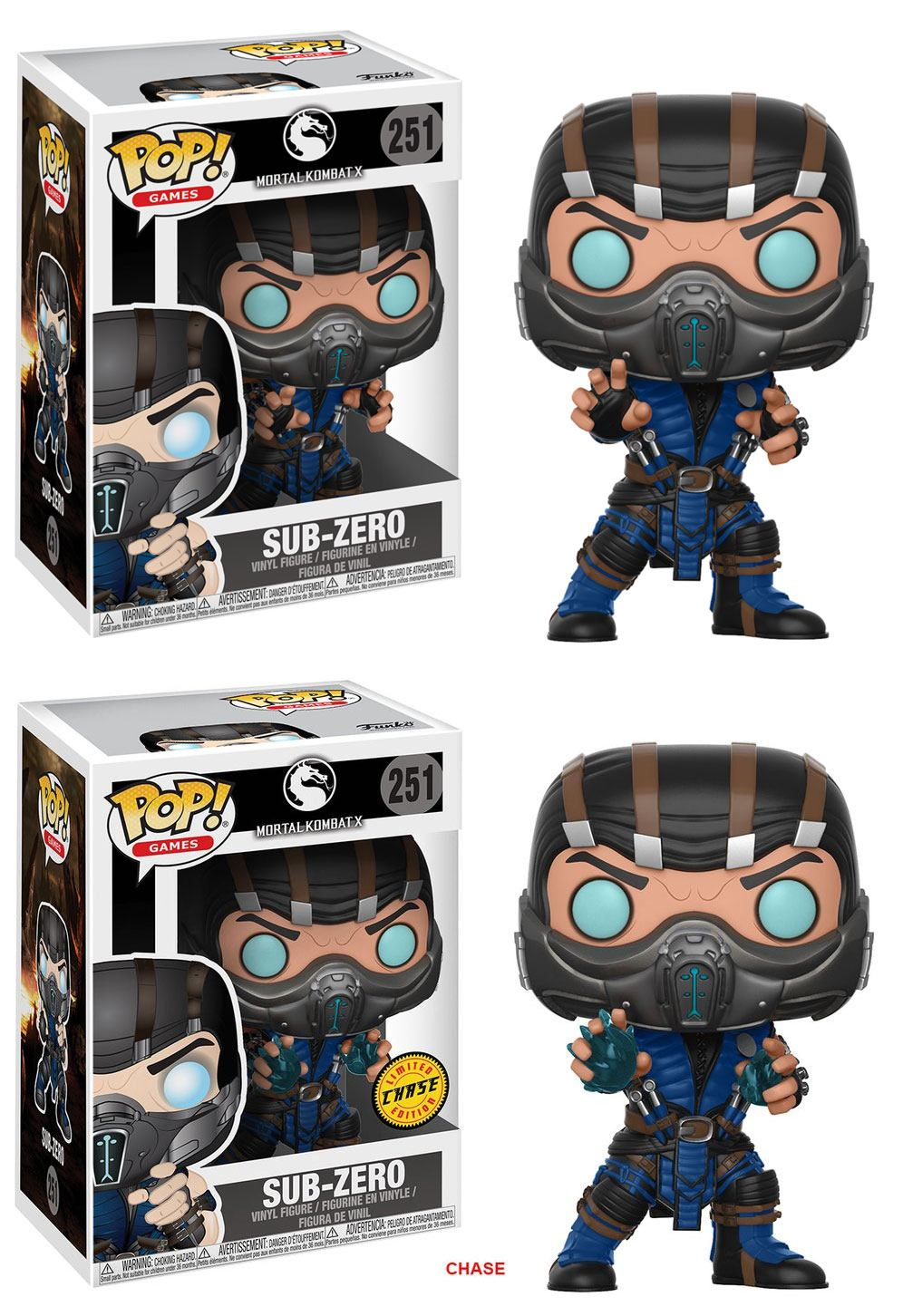 Mortal Kombat POP! Games Figures Subzero 9 cm Assortment (6)
