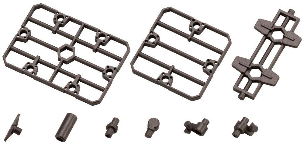 Hexa Gear Plastic Model Kit Expansion Pack 1/24 Block Base 07 Fence Plate Option 5 cm