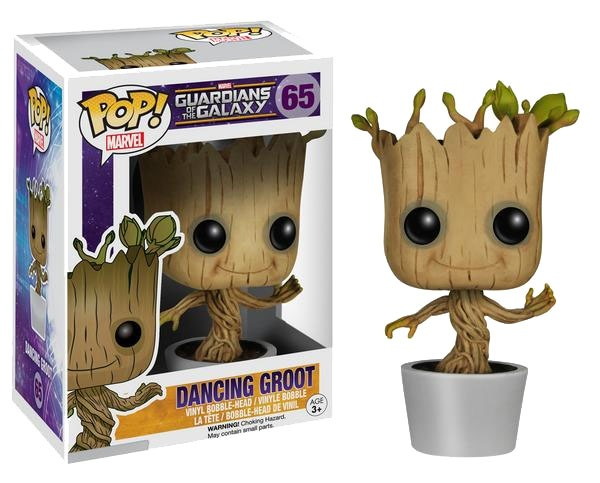 Guardians of the Galaxy POP! Vinyl Bobble-Head Dancing Groot 10 cm