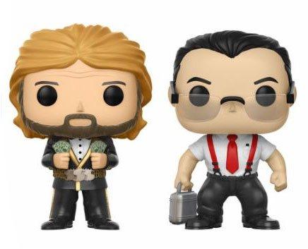 WWE POP! Vinyl Figures 2-Pack IRS & Million Dollar Man 9 cm