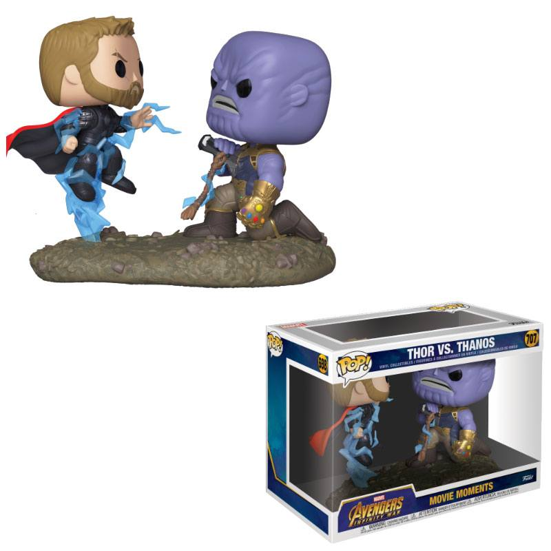 Marvel POP! Movie Moments Vinyl Figures 2-Pack Thor & Thanos 9 cm