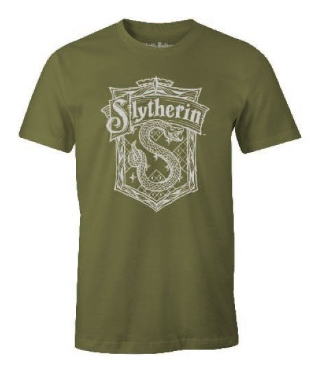 Harry Potter T-Shirt Slytherin School Size L