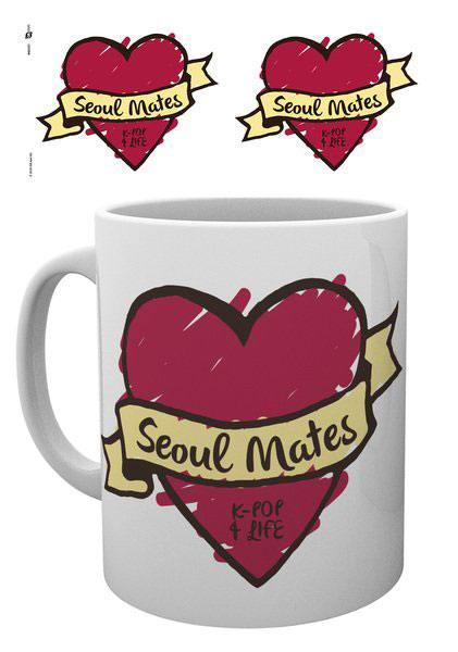 K-Pop Mug Seoul Mates