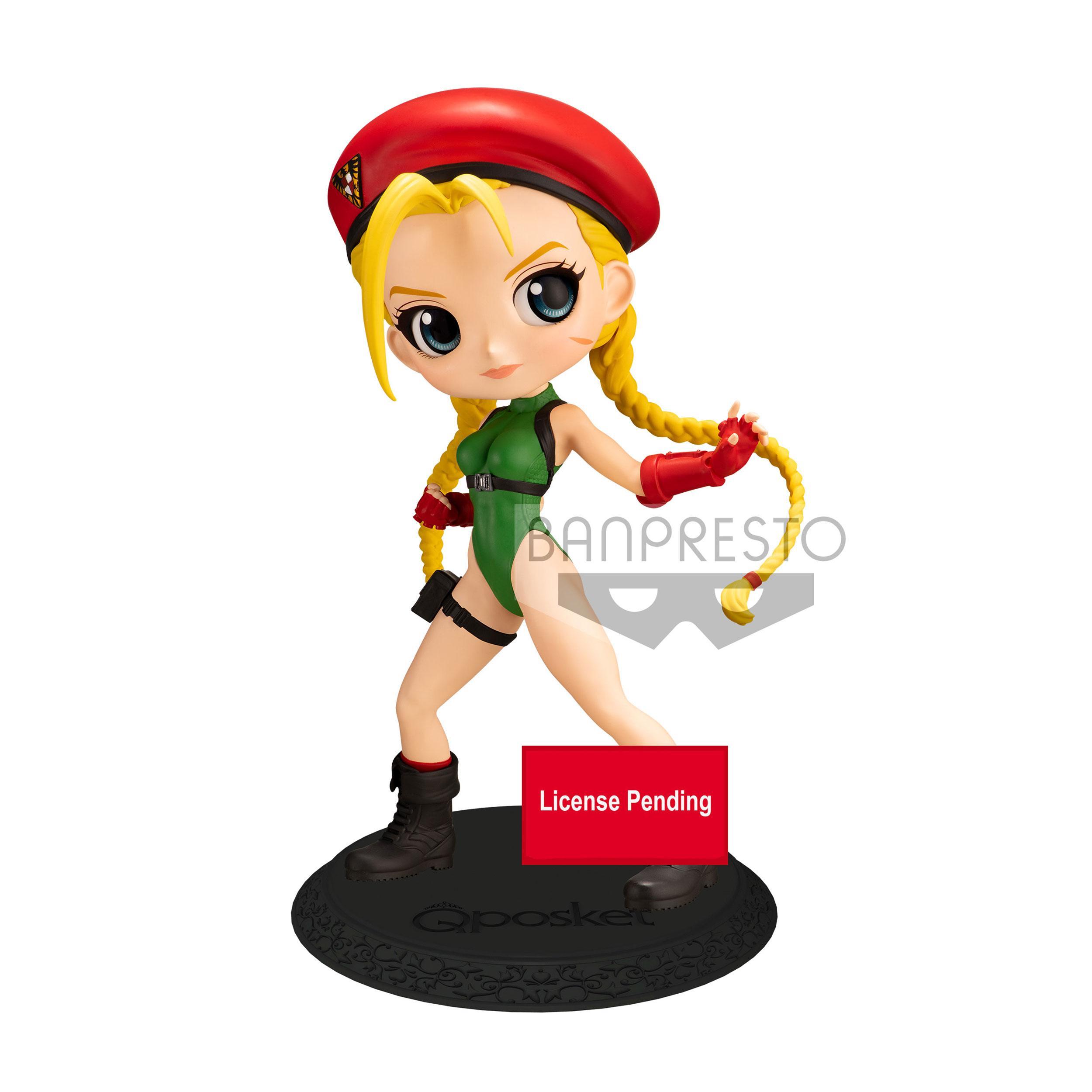 Street Fighter Q Posket Mini Figure Cammy Ver. A 14 cm