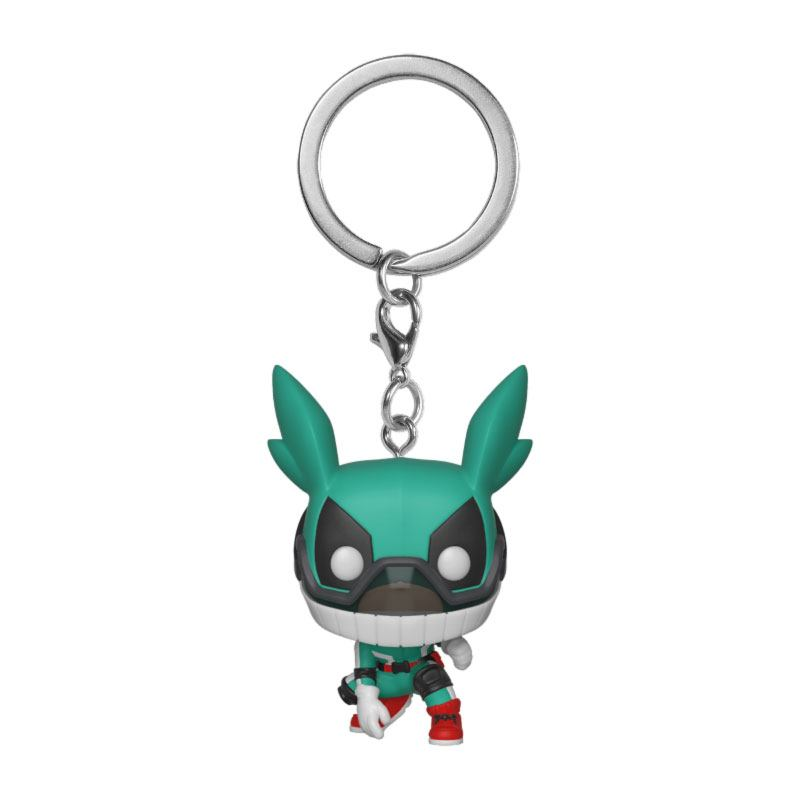 My Hero Academia Pocket POP! Vinyl Keychain Deku w/Helmet 4 cm