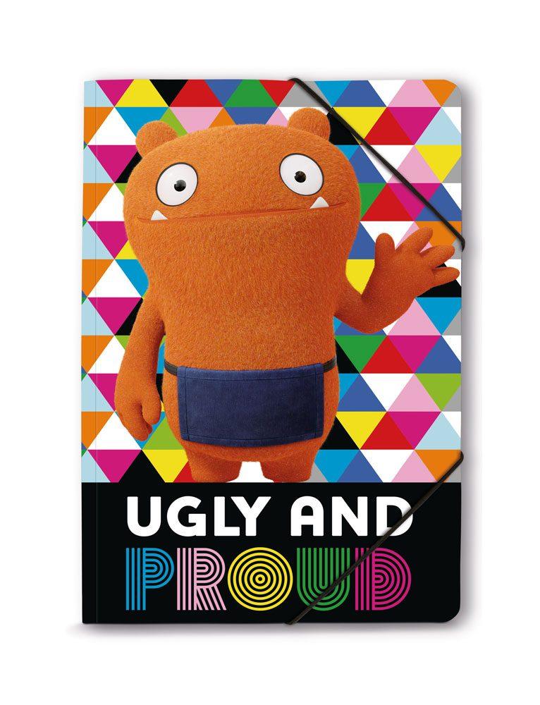 UglyDolls Elastic Band Folder A4 Ugly and Proud