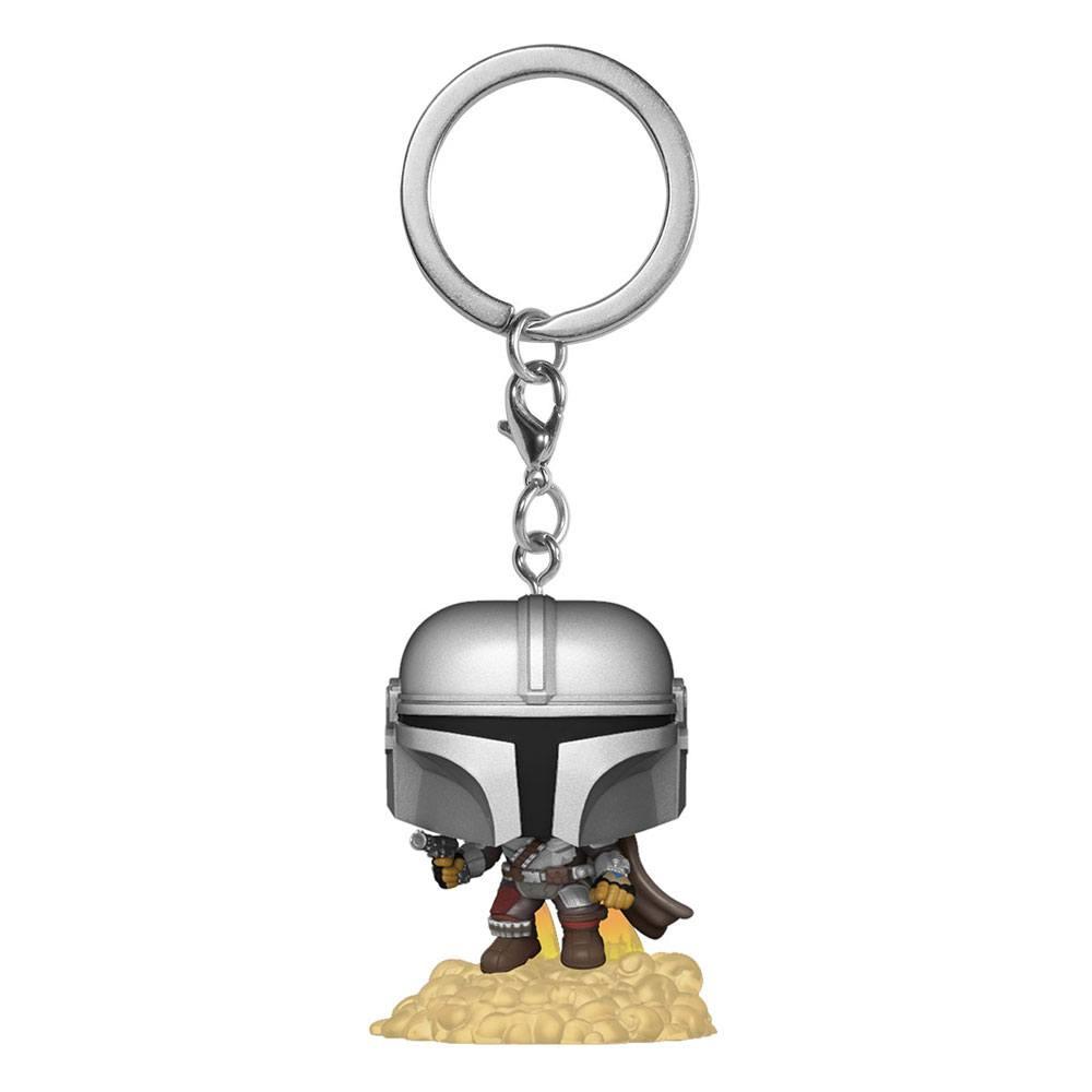 Star Wars The Mandalorian Pocket POP! Vinyl Keychains 4 cm The Mandalorian Display (12)