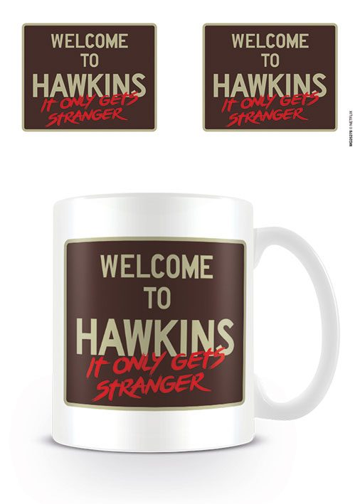 Stranger Things Mug Welcome to Hawkins
