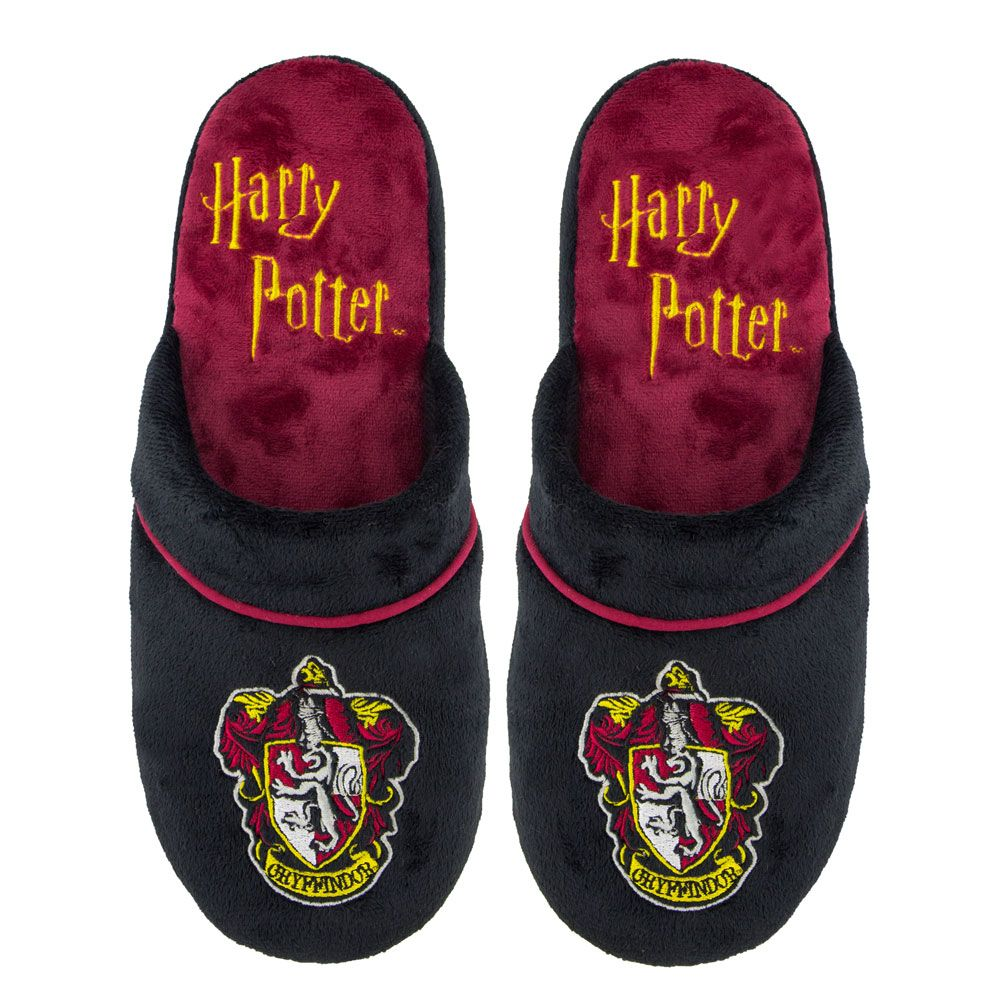 Harry Potter Slippers Gryffindor Size M/L