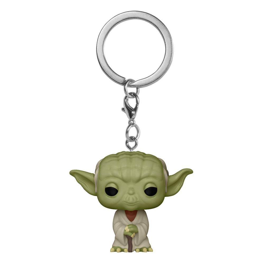 Star Wars Pocket POP! Vinyl Keychains 4 cm Yoda Display (12)