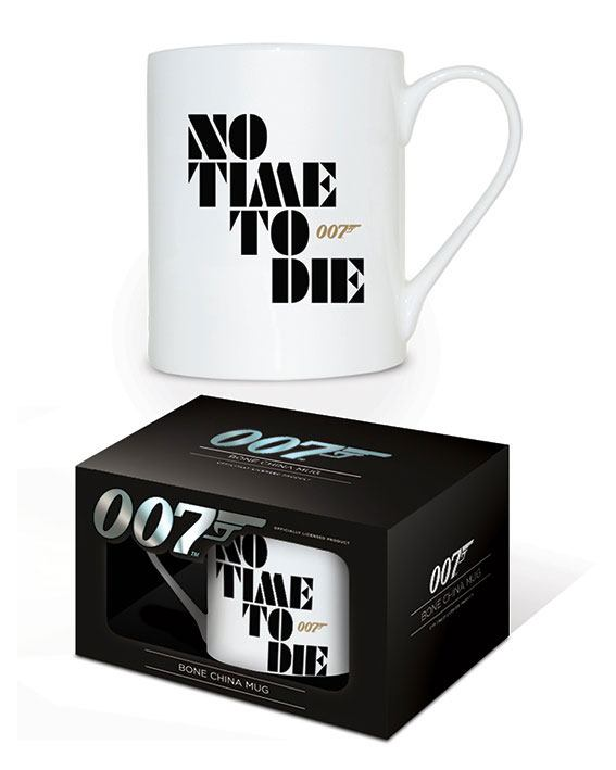 James Bond No Time to Die Bone China Mug 007