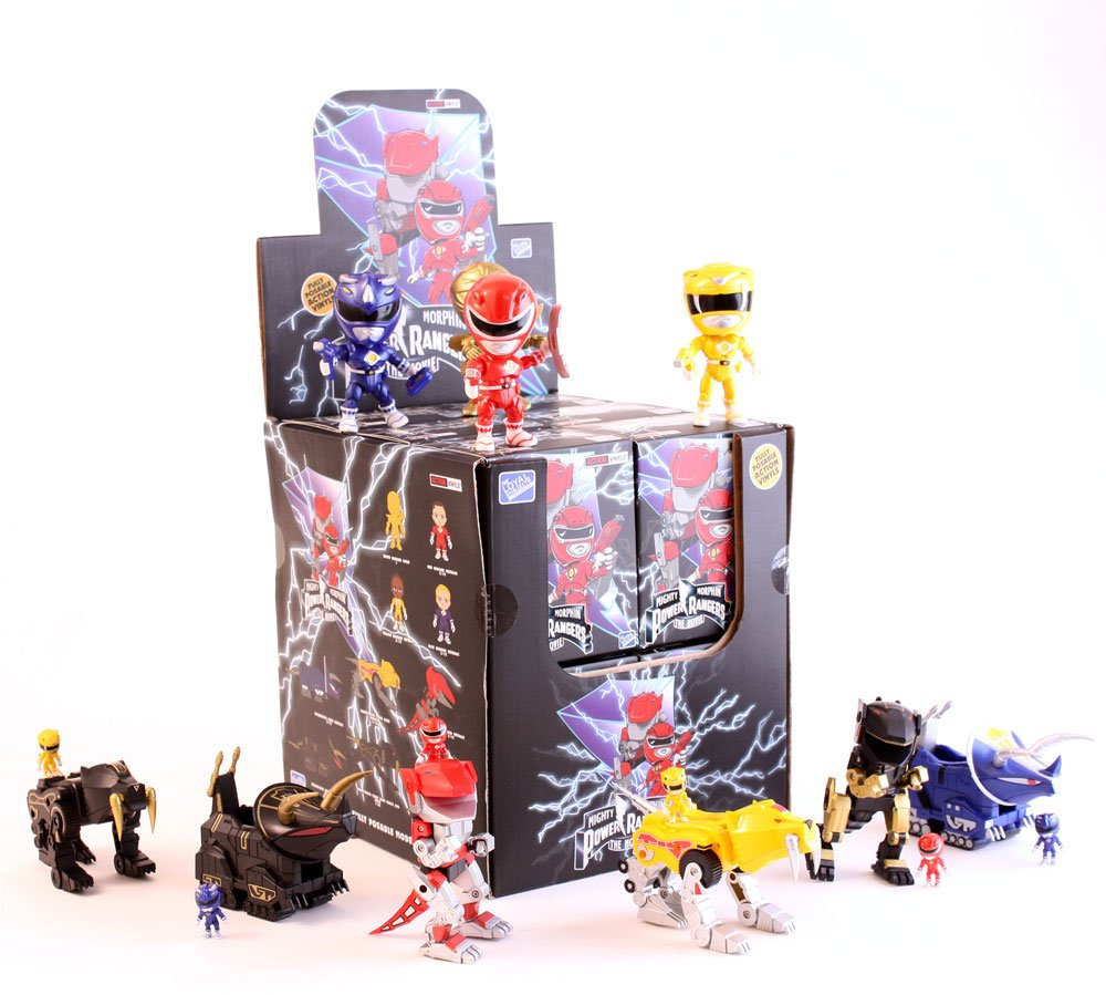 Power Rangers Action Vinyl Mini Figures 8 cm Wave 2 Display (12)