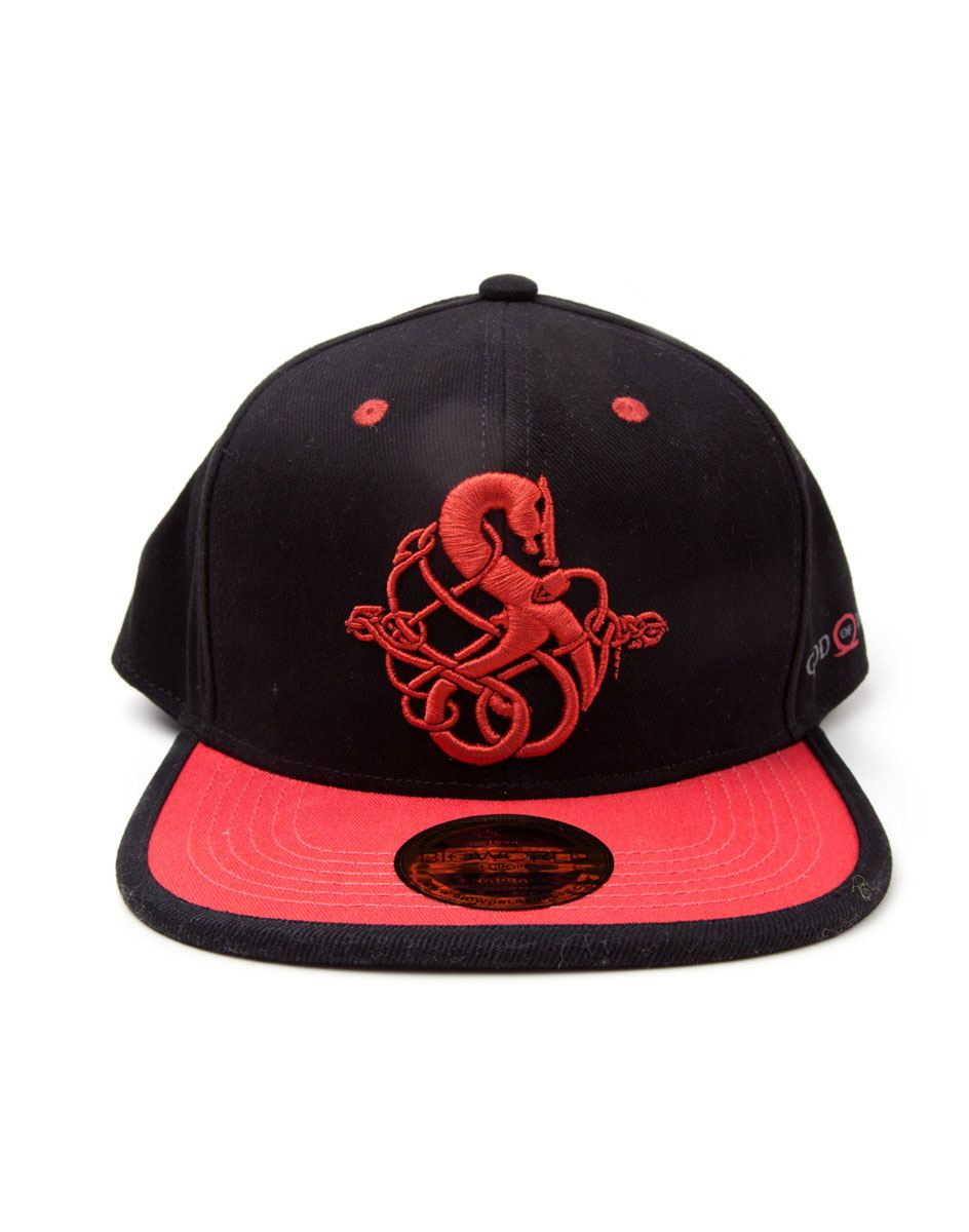 God Of War 3D Embroidery Snapback Cap