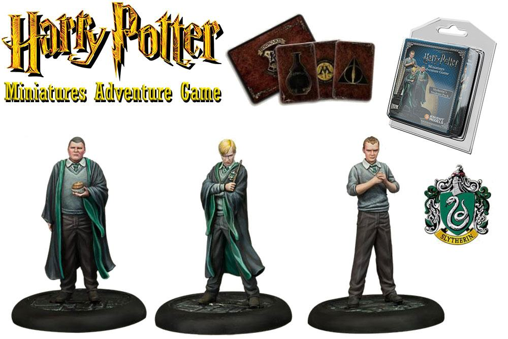 Harry Potter Miniatures 35 mm 3-pack Slytherin Students *English Version*