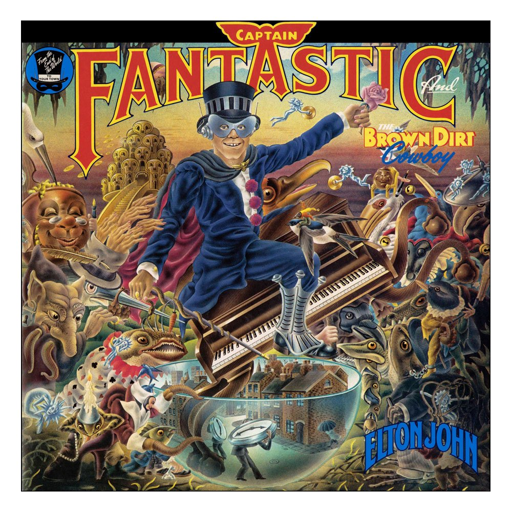 Elton John Rock Saws Jigsaw Puzzle Captain Fantastic and The Brown Dirt Cowboy (1000 pieces)