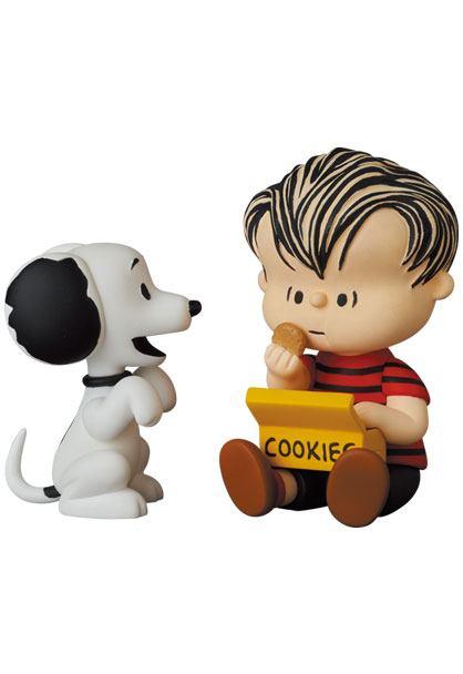 Peanuts UDF Series 12 Mini Figures 50's Snoopy & Linus 5 - 6 cm