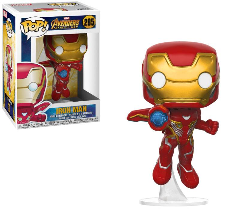 Avengers Infinity War POP! Movies Vinyl Figure Iron Man 9 cm