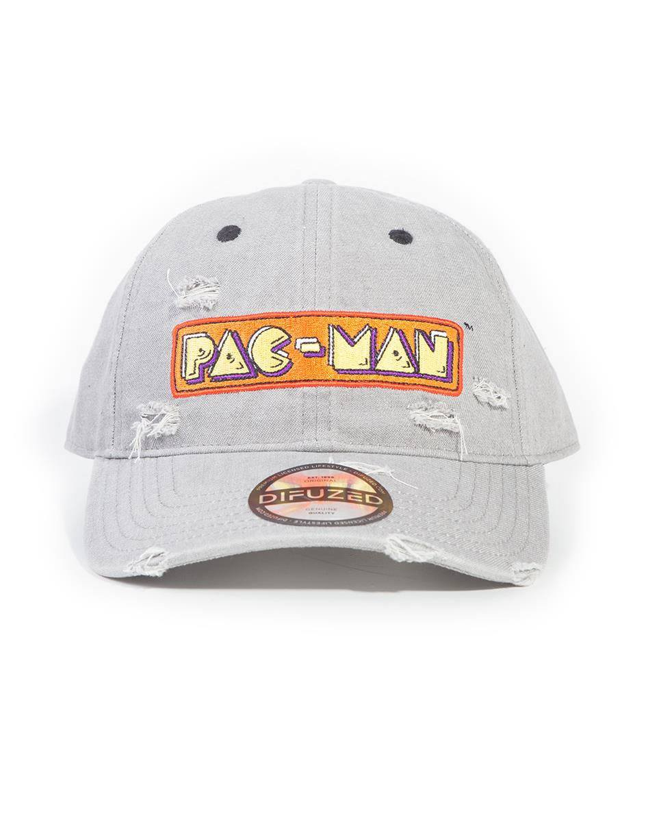 Pac-Man Baseball Cap Logo Denim