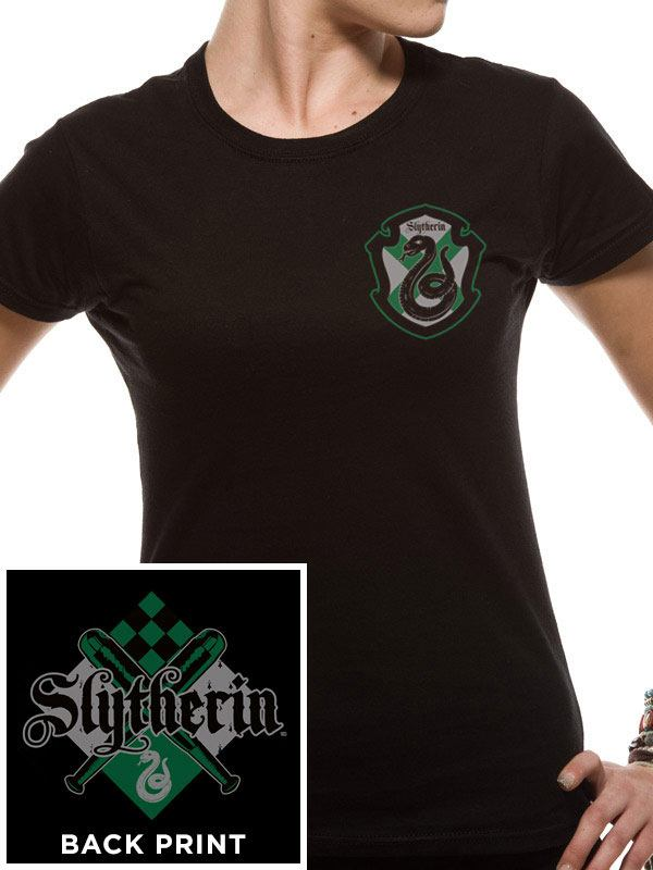 Harry Potter Ladies T-Shirt House Slytherin Size XL