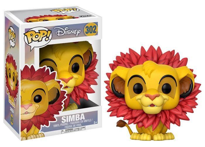 The Lion King POP! Disney Vinyl Figure Simba 9 cm