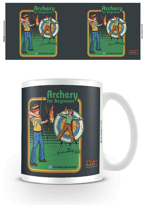 Steven Rhodes Mug Archery For Beginners