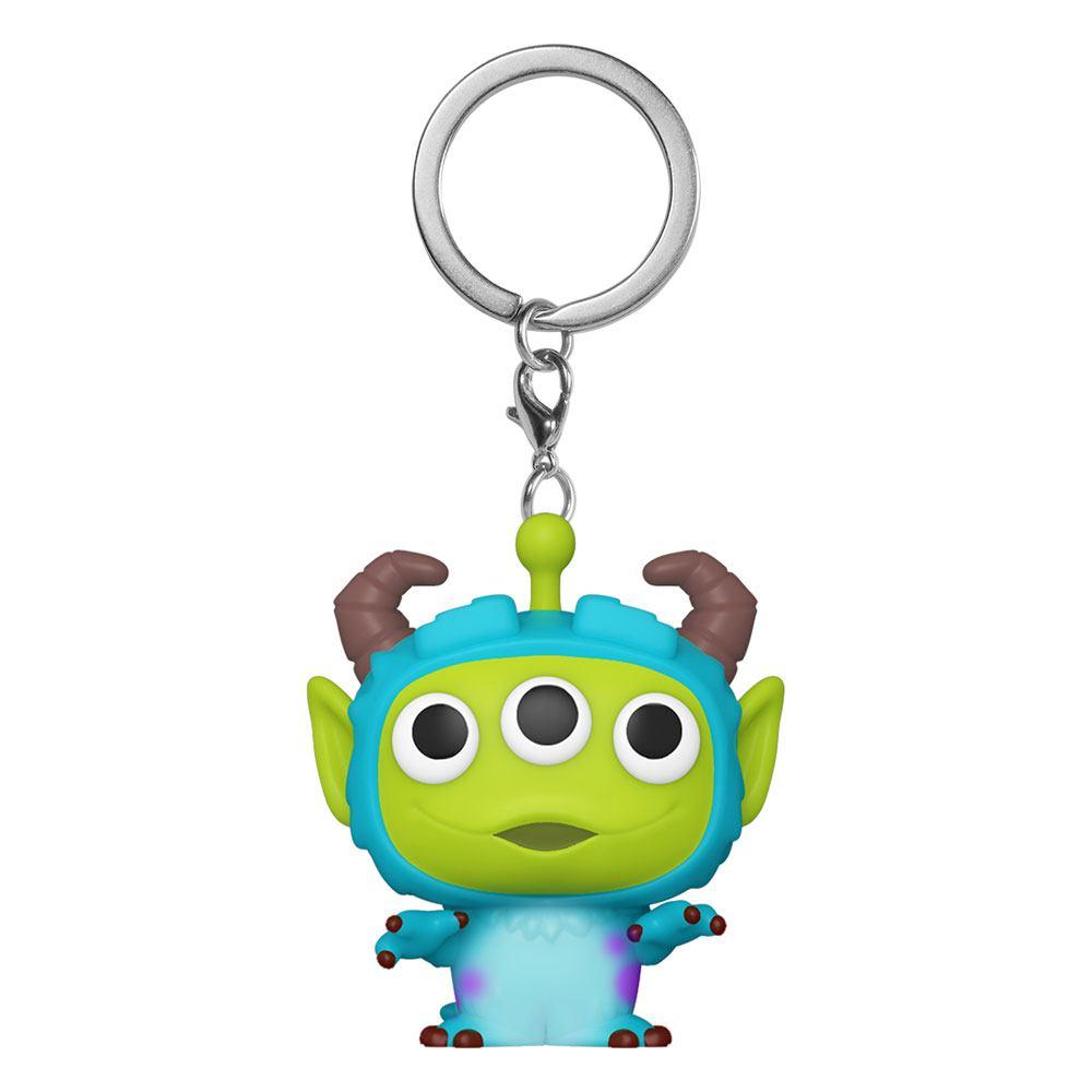 Pixar Pocket POP! Vinyl Keychains 4 cm Alien as Sully Display (12)