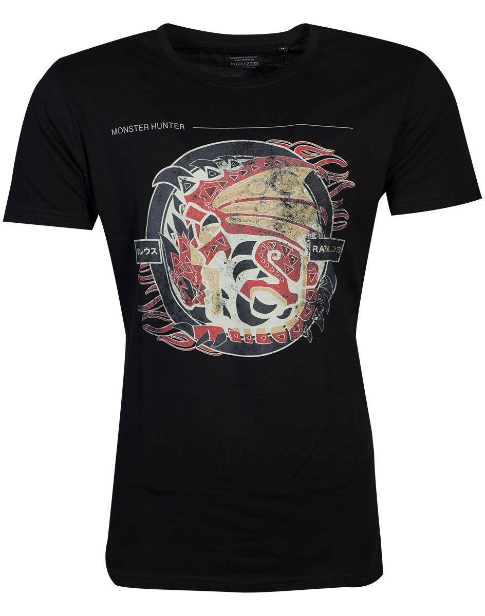 Monster Hunter T-Shirt Rathalos  Size M