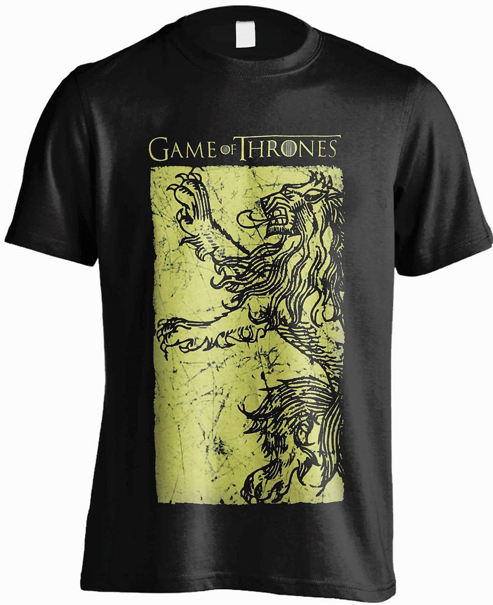 Game of Thrones T-Shirt Lannister Gold Size L