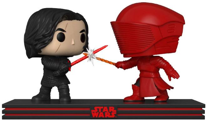 Star Wars POP! Movie Moments Vinyl Bobble-Head 2-Pack Kylo & Praetorian Guard 9 cm