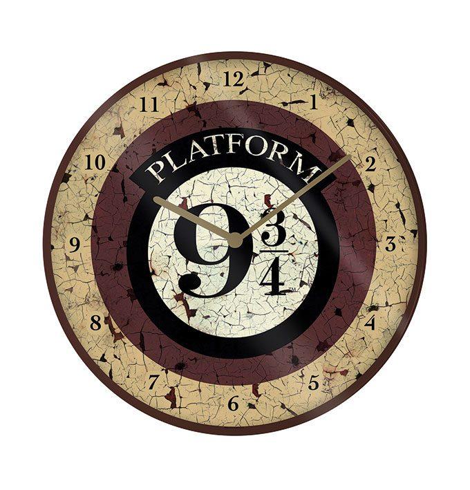 Harry Potter Wall Clock Platform 9 3/4