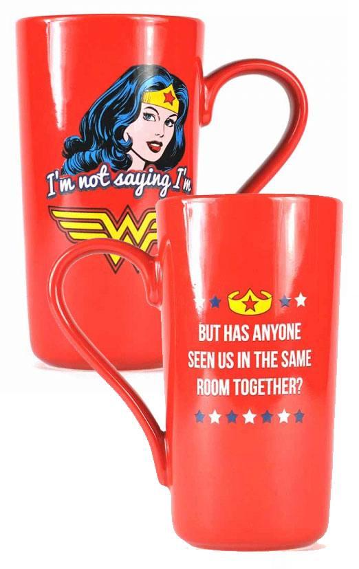 Wonder Woman Latte-Macchiato Mug Classic