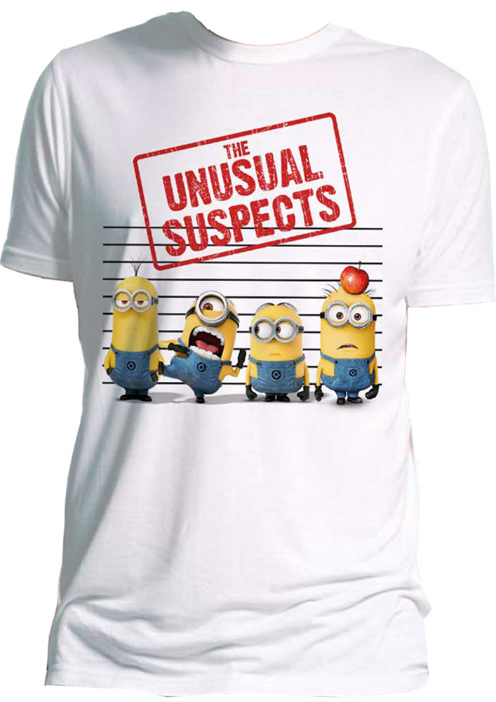 Despicable Me 2 T-Shirt The Unusual Suspects Size M