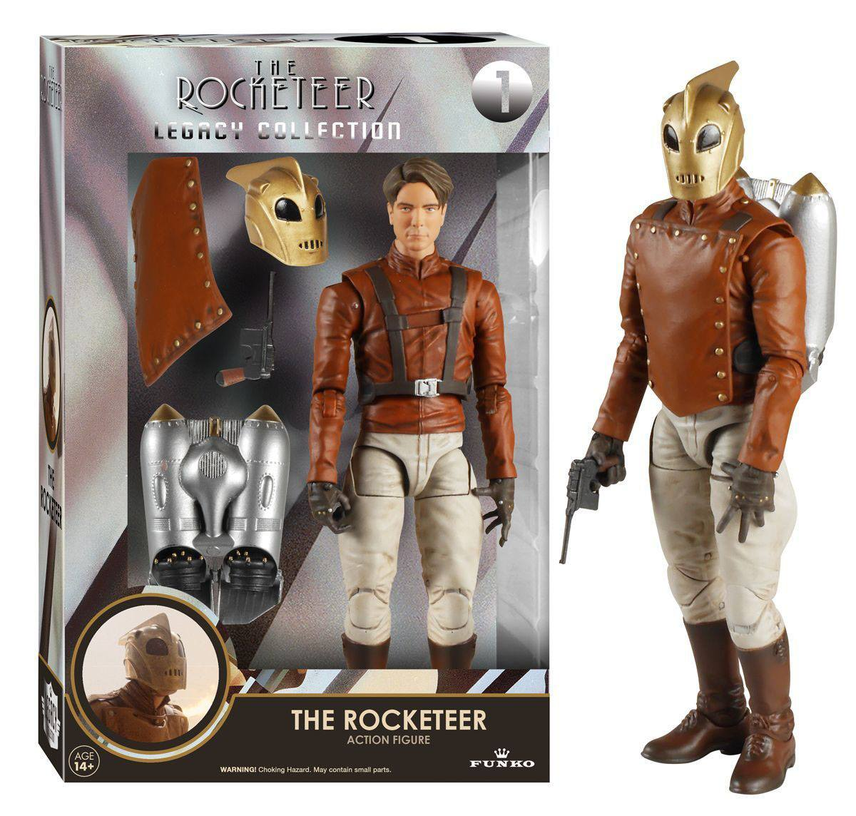 The Rocketeer Legacy Collection Action Figure The Rocketeer 15 cm