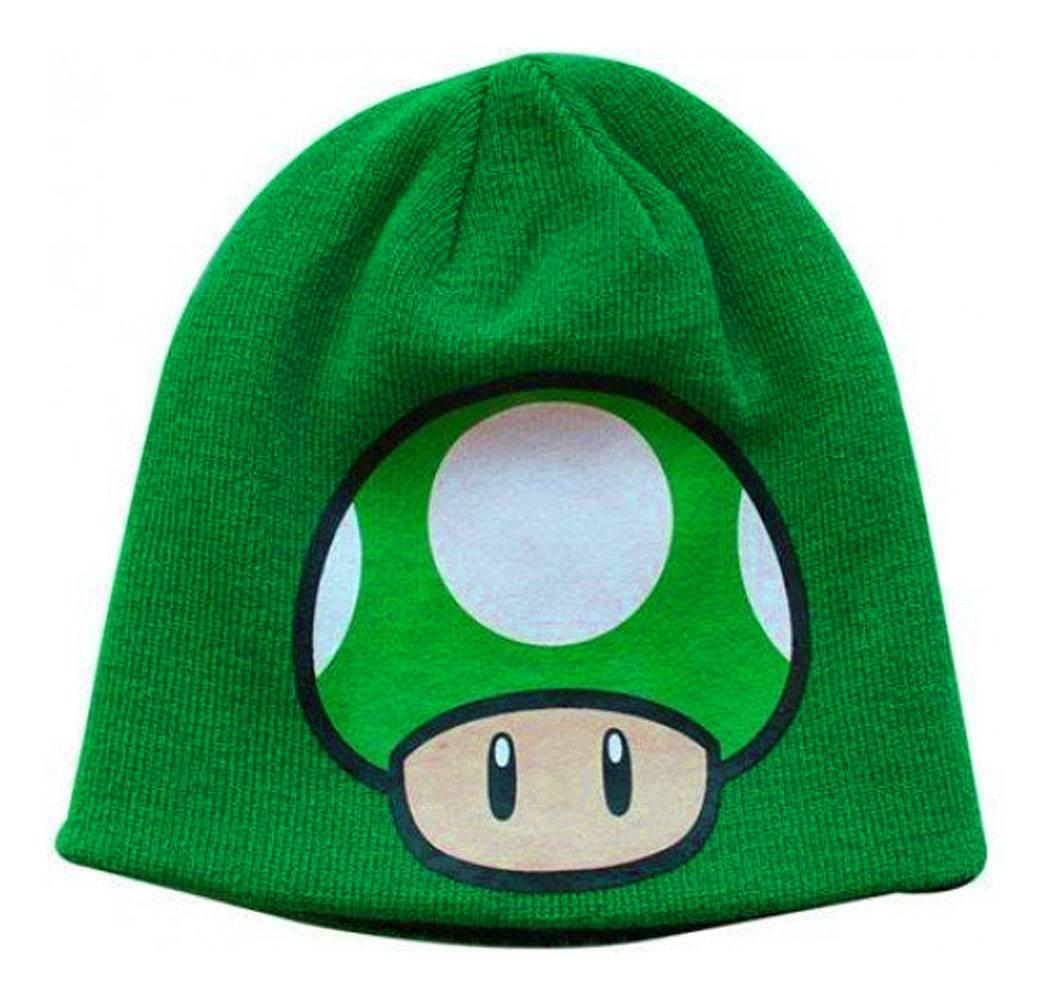 Super Mario Bros. Beanie Mushroom Reversible